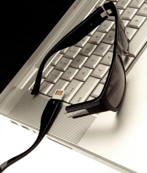 Calvin Klein USB shades